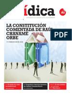 LA CONSTITUCIÓN COMENTADA DE RAÚL CHANAMÉ ORBE