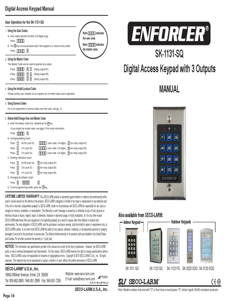 1504643090 enforcer keypad wiring diagram efcaviation com iei keypads wiring diagram at n-0.co