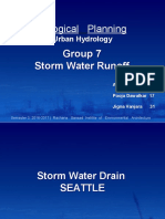 Ecological Planning Storm Water Runoff