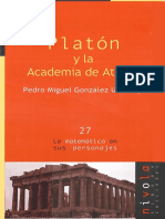 Gonzalez Urbaneja Pedro Miguel. Platon.pdf