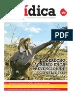 EL DERECHO AGRARIO EN LA PREVENCIÓN DE CONFLICTOS