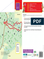 Map and guide to Glenafelly Eco Walk