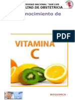 Bioquimica Vitamina c ...