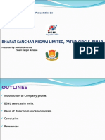 bsnl seminar project by Abhishek & Shani.ppt