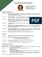 CV Cristina ARRANZ Ingenieur