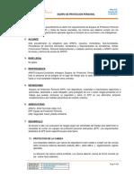 Pro 010 Equipo de Protección Personal Epp Español