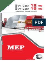 Manual Syntax 12HS