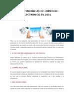 Las 8 Tendencias de Comercio Electrónico en 2016