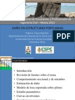 Daño en Estructuras Portuarias - Pablo Caiza