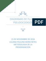 Diagramas de Flujo y Pseudocodigos 2