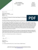 Susan B. Anthony House Speaker Letter 2017