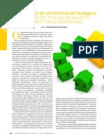 CONSULEX Formatação de Um Sistema de Franquia - Cuidados Do Titular Do Negócio Ao Instituir o Franchising
