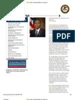 Def. Tony West, Assistant Attorney General, Civil Division, Doc. ## 28, 27, 25