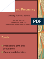 Diabetes and Pregnancy _Dr. Bonnie WONG