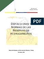 DEFINICIONES Y NORMAS DE RESERVAS DE HIDROCARBUROS.pdf