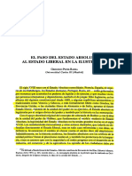 Peces Barba - El Paso Del Estado Absolutista Al Estado Liberal en La Ilustración