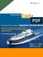 Aplicacion Del MEF Al Estudio de Vibraciones en Vigas Empleadas en Construccion Naval