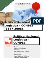 Política Nacional Logística - CONPES