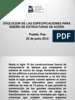 EVOLUCIÓN DE LAS ESPECIFICACIONES PARA DISEÑO DE ESTRUCTURAS DE ACERO