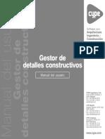 22 Gestor de Detalles Constructivos - Manual Del Usuario