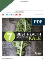 7 Best Health Benefits of Kale