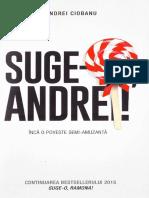 Suge-o, Andrei - Andrei Ciobanu