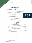 Draft ObamaCare bill