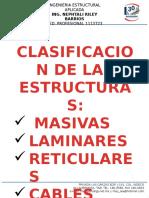 Clasificación de Estructuras y Detalles de  Armados