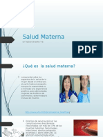 Medicina Preventiva 2 Salud Materna