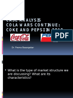 Case Analysis - Cola War