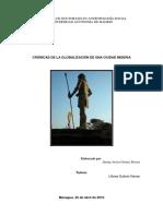 CRÓNICAS DE LA GLOBALIZACIÓN DE UNA CIUDAD MISERIA