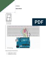 Arduino Practicals