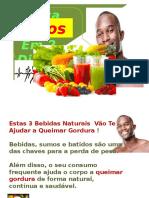 Estas 3 Bebidas Naturais Vão Te Ajudar a Queimar Gordura