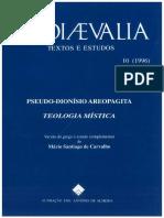 LIVRO - Teologia Mística - Pseudo-Dionísio Areopagita.pdf