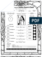 Gencon 2010 Character Sheet ELF