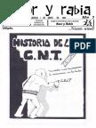 """Amor y Rabia Nr. 38, """"Historia de la CNT"""""""