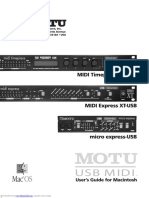 Midi Timepiece Av Users Guide