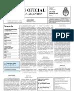 Boletin Oficial 06-07-10 - Segunda Seccion