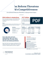 Federal Tax Reform Threatens New York%27s Competitiveness - Partnership for New York City - 2017-02