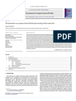 Perspectives on Supercritical Fluid Processing of Fats and Oils