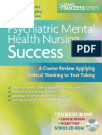 Psychiatric Mental Health Nursing Success