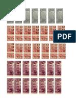 Timbres fiscales y notariales en Guatemala