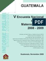 ENSMI 2008-2009 Preliminar Final