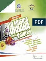Brochure V Concurso Música Urbana