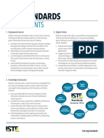 ISTE Standards for Students, 2016