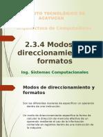 modosdedireccionamientoyformatos-131102230037-phpapp01
