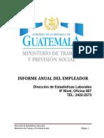 JORGE Guia Para Presentación Del Informe Del Empleador