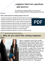 Top10miningengineerinterviewquestionsandanswers 150325080745 Conversion Gate01