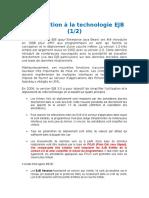 Introduction à La Technologie EJB