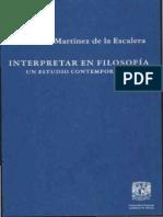 03. Ana María Martínez - Interpretar en Filosofía.pdf